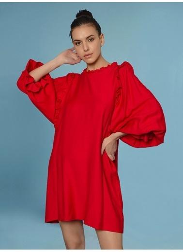 Faraway Guadalajara Dress Kırmızı